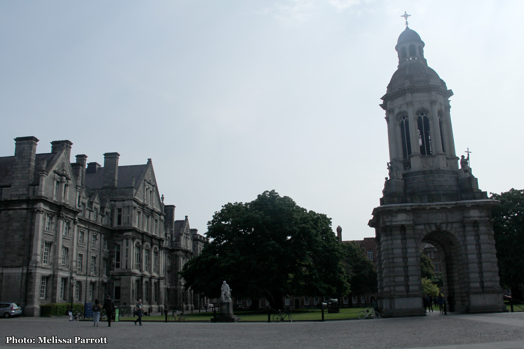 Trinity College Courtyard and Campanile